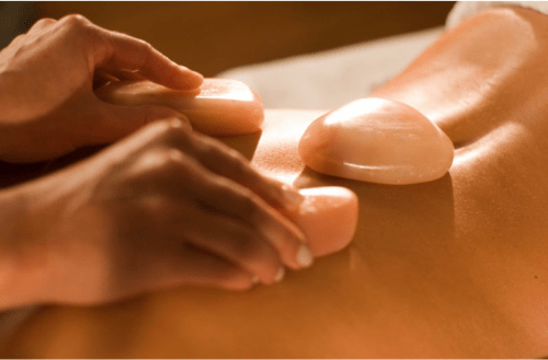 salt stone massage therapy