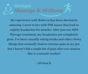 TMJ massage, acupuncture troy michigan